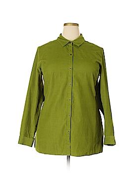 J.jill Long Sleeve Button-Down Shirt Size XL