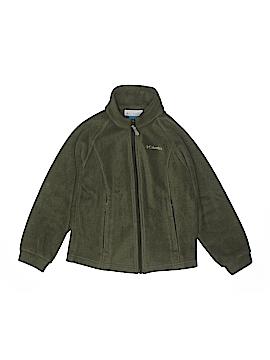 Columbia Fleece Jacket Size 7/8