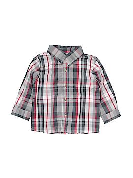 Little Rebels Long Sleeve Button-Down Shirt Size 24 mo