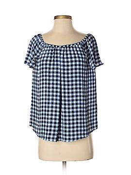 Maison Jules Short Sleeve Blouse Size XS