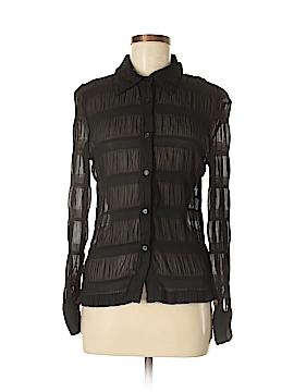 Selene Sport Long Sleeve Blouse Size M