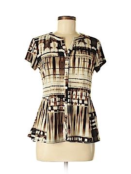 Dana Buchman Short Sleeve Top Size M (Petite)