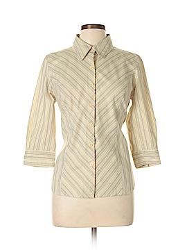 Apostrophe 3/4 Sleeve Button-Down Shirt Size 14 (Petite)