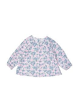 Absorba Long Sleeve Blouse Size 3-6 mo
