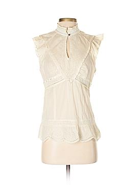 Karen Millen Short Sleeve Blouse Size 8