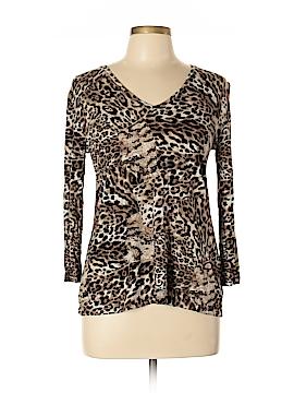 Gerard Darel 3/4 Sleeve T-Shirt Size Lg (4)