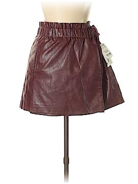Jolt Faux Leather Skirt Size M