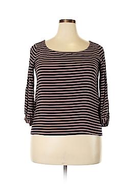 Splendid 3/4 Sleeve Blouse Size XL