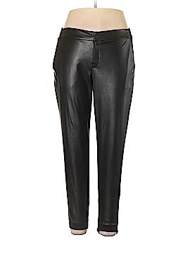 Soho Girls Faux Leather Pants Size M