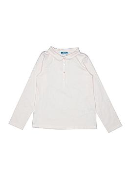 Jacadi Long Sleeve Polo Size 6