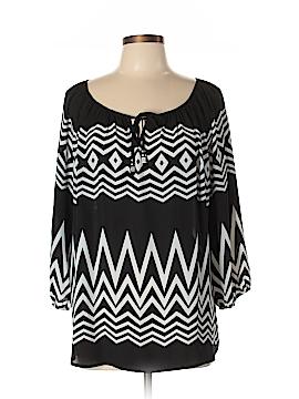 Jolt 3/4 Sleeve Blouse Size XL