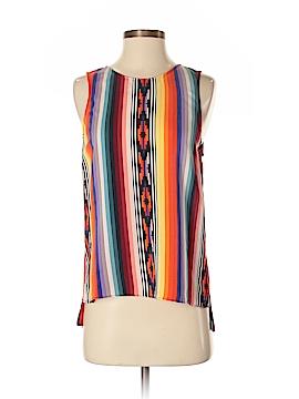 Parker Sleeveless Silk Top Size S
