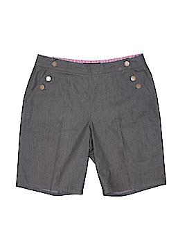 Larry Levine Khaki Shorts Size 8