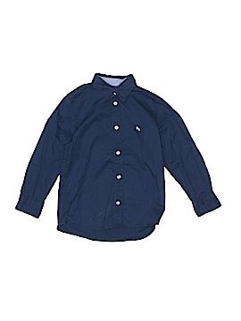 H&M L.O.G.G. Long Sleeve Button-Down Shirt Size 4-5