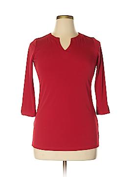 Susan Graver 3/4 Sleeve Top Size XXS