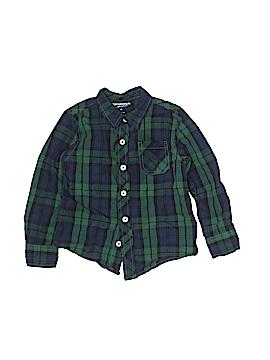 Arizona Jean Company Long Sleeve Button-Down Shirt Size 4T