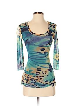 Elana Kattan 3/4 Sleeve Blouse Size S