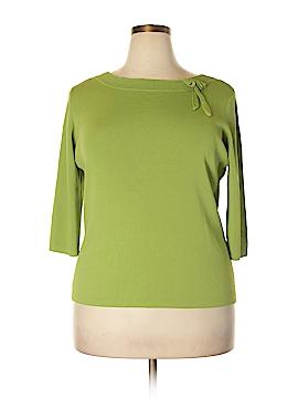 Joseph A. Pullover Sweater Size 1X (Plus)