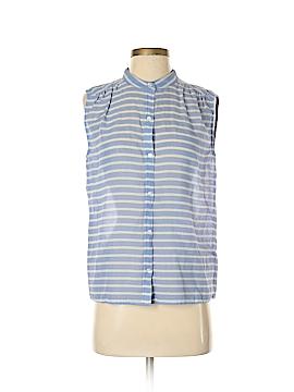 J. Crew Sleeveless Button-Down Shirt Size 4