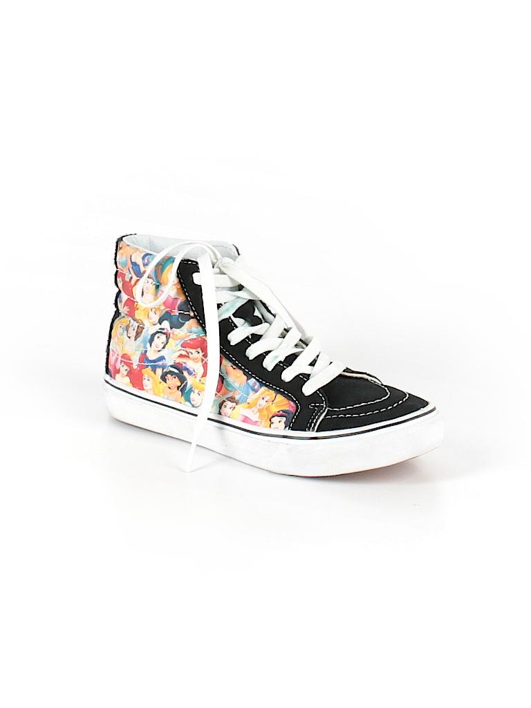 vans graphic black sneakers size 7 1 2 66 off thredup