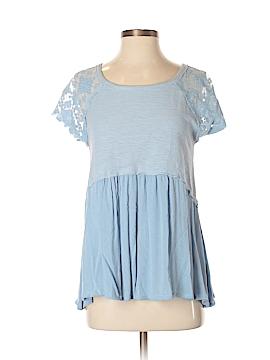 Suzanne Betro Short Sleeve Blouse Size S