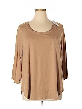 Lane Bryant 3/4 Sleeve T-Shirt Size 18 Plus (3) (Plus)