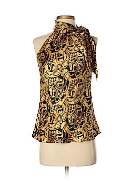 INC International Concepts Sleeveless Silk Top Size 4