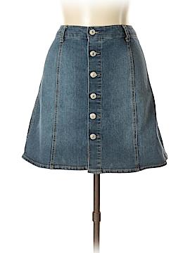 Mossimo Denim Skirt Size 14