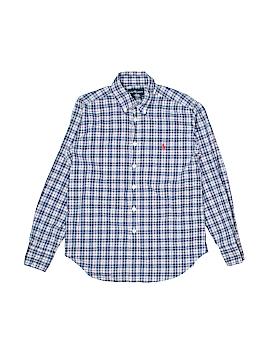 Ralph Lauren Long Sleeve Button-Down Shirt Size 8 - 10