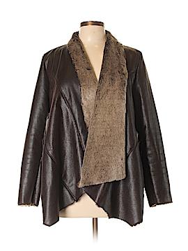 Bagatelle Faux Leather Jacket Size L