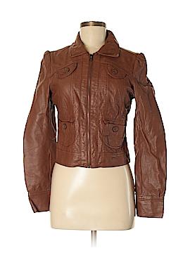Heritage 1981 Faux Leather Jacket Size M