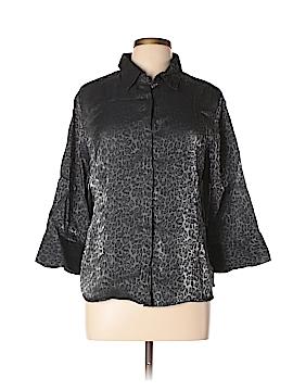 Kathie Lee 3/4 Sleeve Blouse Size XL