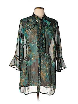 Catherines 3/4 Sleeve Blouse Size 0X (Plus)
