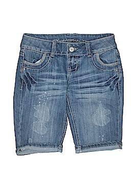 Blue Asphalt Denim Shorts Size 2