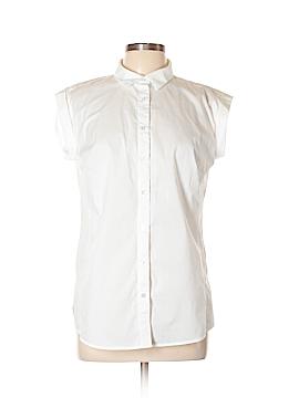 Worthington Short Sleeve Button-Down Shirt Size L