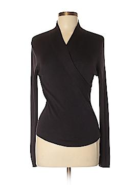 Etcetera Long Sleeve Silk Top Size M