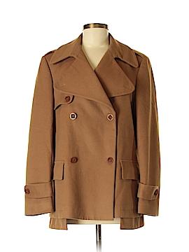 Zanella Wool Coat Size 8