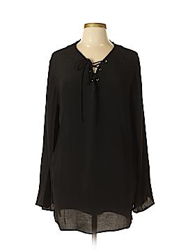 Elan Long Sleeve Blouse Size XL (Plus)