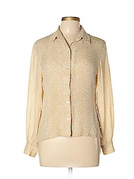 Rena Rowan Short Sleeve Silk Top Size 12