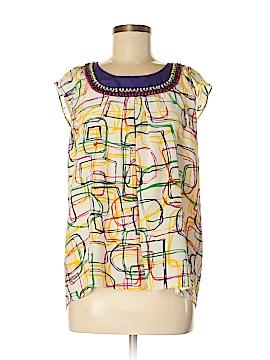 Whitley Sleeveless Silk Top Size M