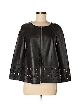 Lafayette 148 New York Leather Jacket Size S