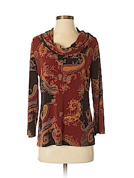 Jaclyn Smith Long Sleeve Blouse Size S