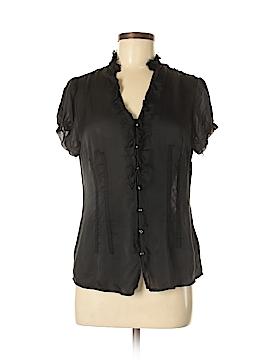 White House Black Market Short Sleeve Blouse Size 6