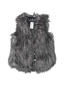 Guess Faux Fur Vest Size 4