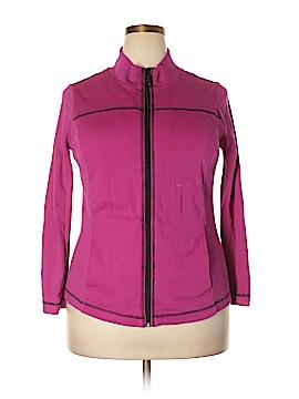 Jones New York Sport Track Jacket Size 1X (Plus)