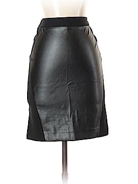Ann Taylor LOFT Faux Leather Skirt Size 2 (Petite)