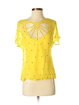 Catherine Malandrino Short Sleeve Blouse Size M