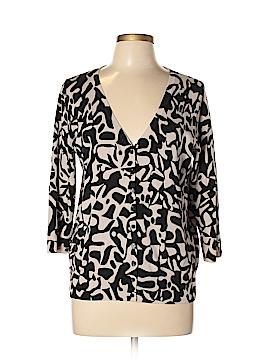 Josephine Chaus Silk Cardigan Size L