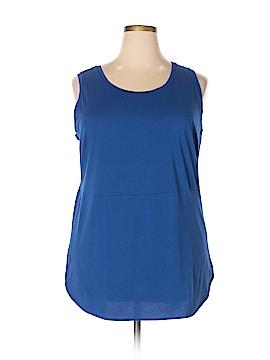 Lands' End Sleeveless T-Shirt Size 1X (Plus)