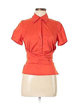 Etcetera Short Sleeve Blouse Size 6